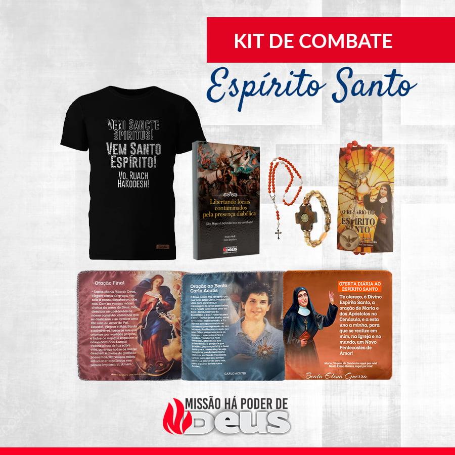 KIT DE COMBATE ESPIRITO SANTO