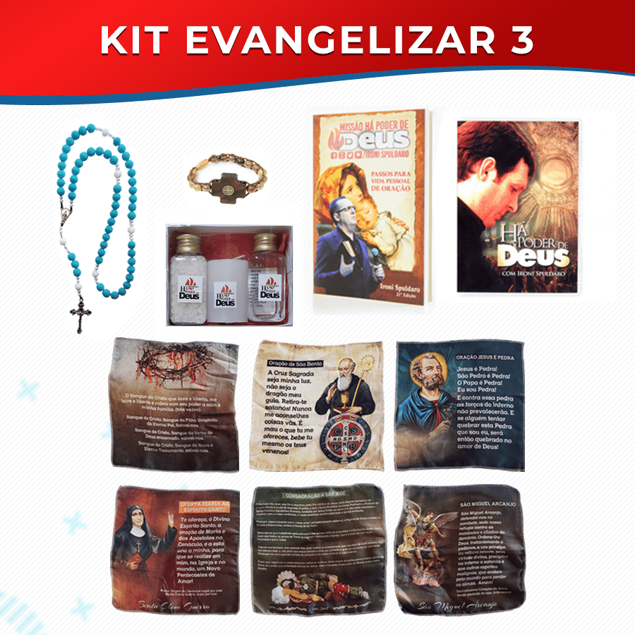 KIT EVANGELIZAR 3