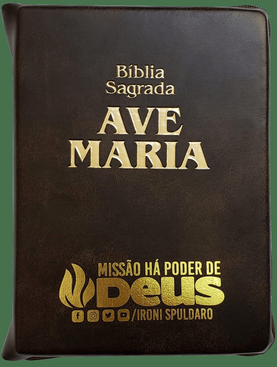 BÍBLIA AVE MARIA - MISSÃO HÁ PODER DE DEUS - IRONI SPULDARO