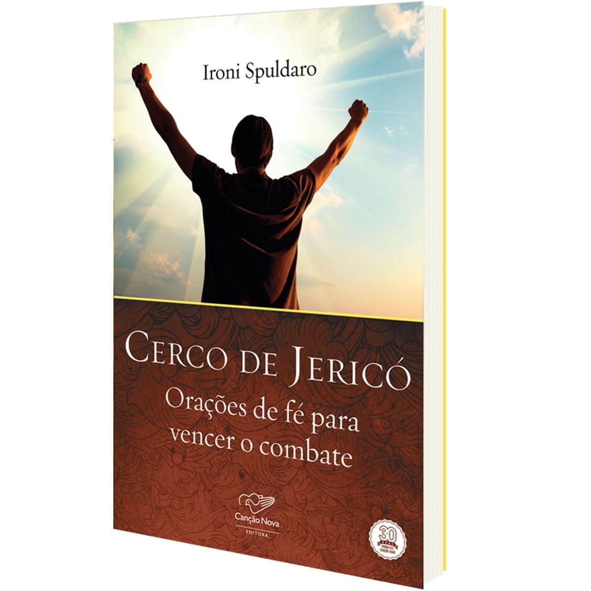 "IRONI SPULDARO - LIVRO ""CERCO DE JERICÓ"""