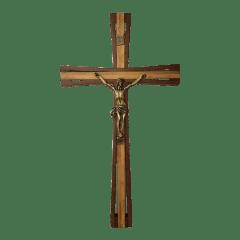 CRUZ EM IMBUIA - 45 cm - IRONI SPULDARO