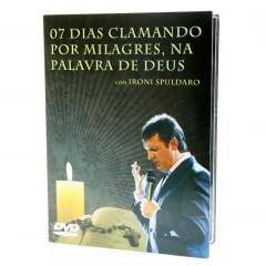 DVD 7 Dias Clamando por Milagres na Palavra e Deus – Ironi Spuldaro