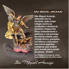 Lenço São Miguel Arcanjo
